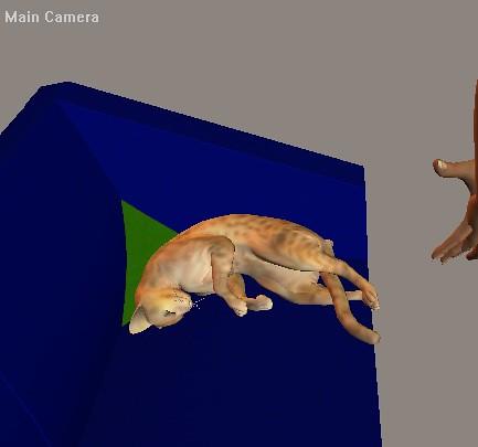 Render gato durmiendo ^^ by Inochiaya