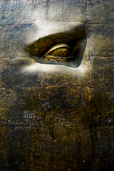 The Eye Of Judgment (Shakir's Photography) Tags: sea eye art look statue metal sad looking steel side depressed jeddah   shanko                     goldenmasterpiece