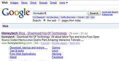 Honeytech on google