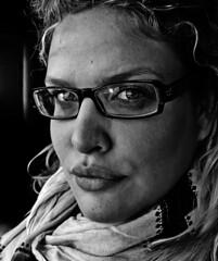 (Samantha West) Tags: portrait woman selfportrait self suchislife samanthawest inrecentphotosiamstartingtoseethesignsofagingandiloveit ilovethesmallwrinklesandtheslightcreasesandseeminglypermanentdimples gettingolderisbeautiful idaretoweartheglassestodaybecausemycontactfelloutofmyeyeandflewoutthewindowofataxicab