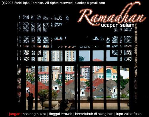 Ucapan Salam Ramadhan