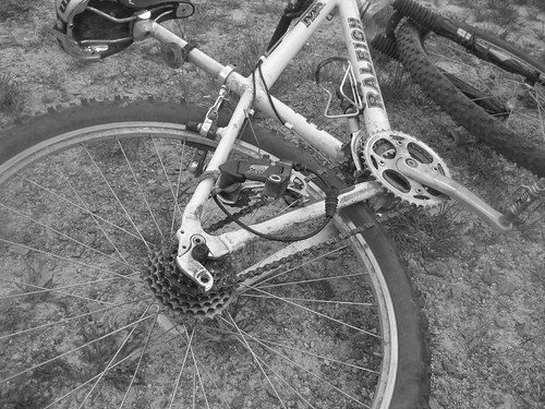 Broken Bike... but fixed (sorta)