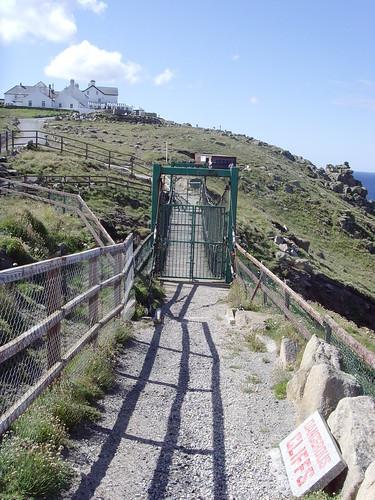 land's end closed bridge danger