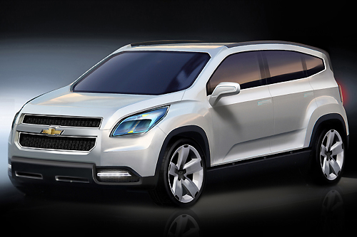 Chevrolet Orlando show car signals entry into new segment for the brand,car, sport car