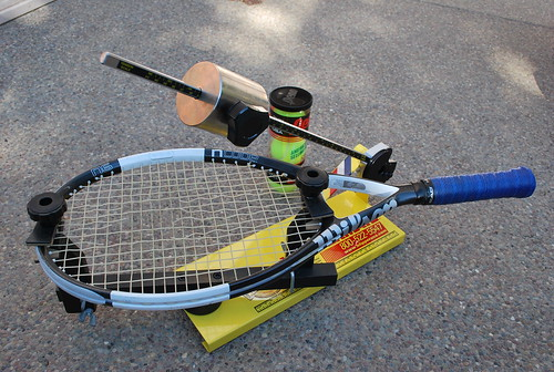 Stringing Tennis Rackets