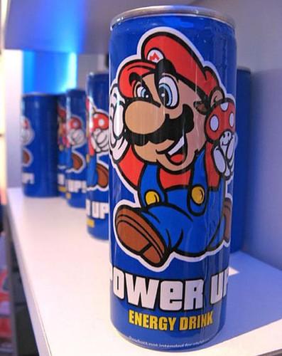 Bebida Energética: Super Mario Drink