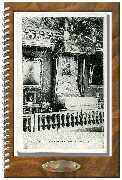 VERSAILLES-Chambre à coucher de Louis XIV