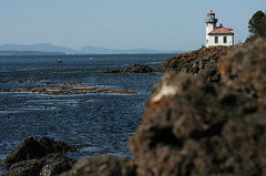 Lime Kiln Point (L. Nations) Tags: lighthouse island washington watching sanjuan whale fridayharbor limekilnpoint