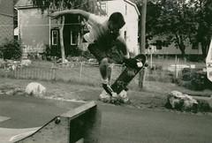 more old skateboarding