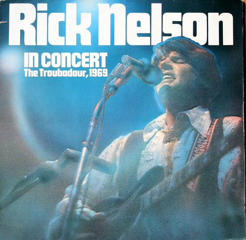 Rick Nelson in Concert LP (reissue)