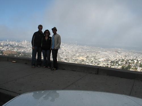 Me, Josh, and Kristin on Twin Peaks