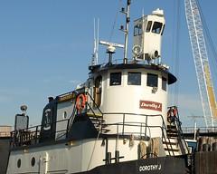 DOROTHY J. Tugboat on Kill Van Kull (jag9889) Tags: city nyc ny newyork work boat julian marine henry kayaking tugboat tug statenisland 2008 dorothyj killvankull y2008 jag9889