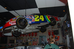 Jeff Gordon's # 24 at Quaker Steak & Lube.