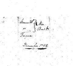 1792  Fuqua, William & Frankie (Frances) Dunnivant marriage bond_Page_1