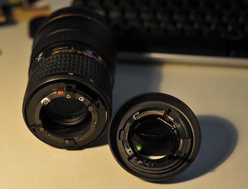 Broken Nikon 24-70 f/2.8