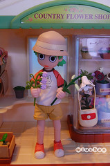 Can't decide.... (~miuchan~) Tags: flowershop yotsuba revoltech slyvannianfamily