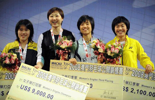 Badminton - MACAU GRAND PRIX GOLD 2008, Women Single Finalist