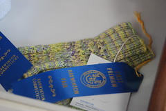 More blue ribbon