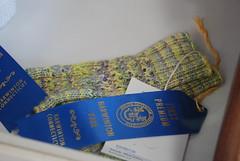 More blue ribbon