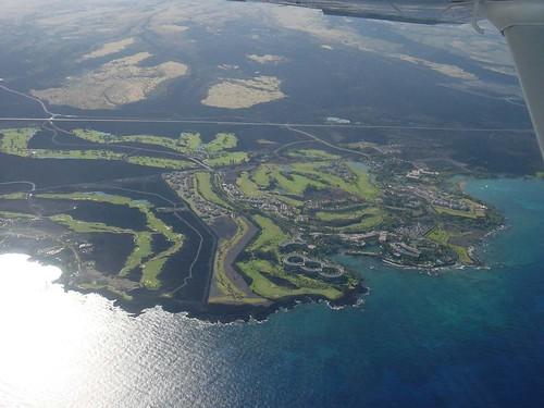 ハワイ島ヒルトンホテル
