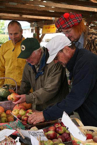 Apple Identification Discussion with Bob Norton and Rich Anderson - Vashon Cider Fest 08