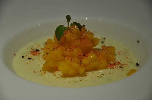 Lime Semifreddo with Mango, Lime & Chilli