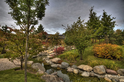 korean garden hdr - Korean Garden
