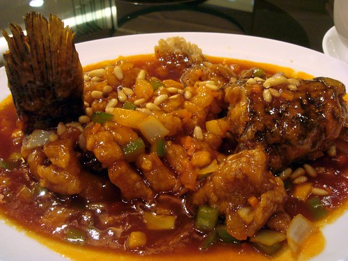 Sweet n sour fish