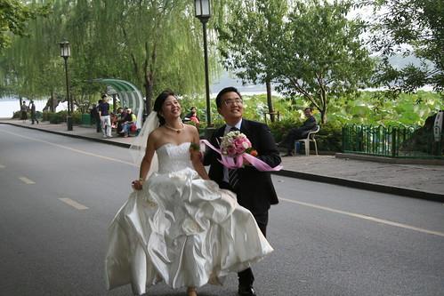西湖 结婚