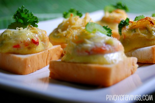 Shrimp Supreme Canapes