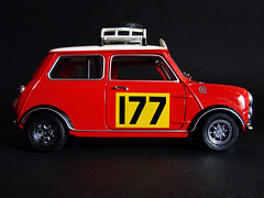 Mini Cooper (Photomechanica) Tags: mini cooper 118 diecast kyosho 118scale escala118