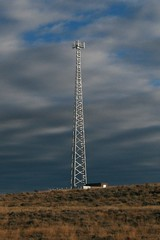 Lonely Tower in Wyoming