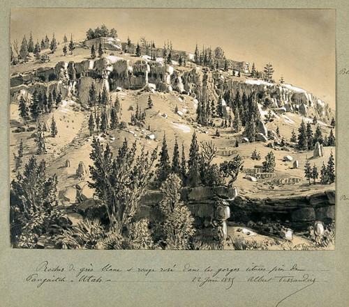 013- Rocas blancas y rosadas en Utah