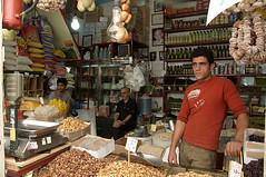 New Shop Keepers (kamshots) Tags: new shop persian essay iran spice nuts persia iranian bazaar tehran tajrish keepers