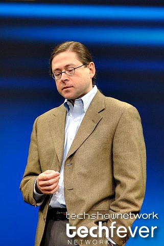 Jonathan Schwartz at JavaOne 2008 by TechShowNetwork.
