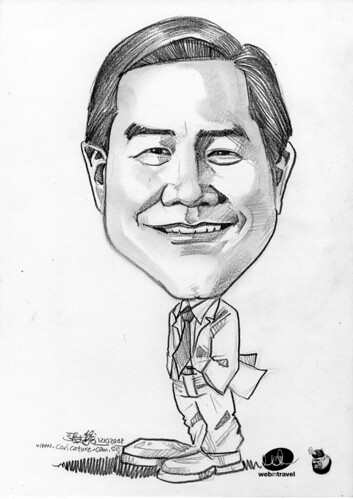 Caricatures Web in Travel 2008 Bill Liu