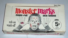 Monster Marks display box