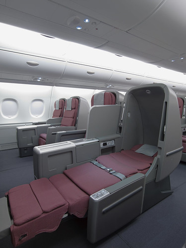 The best business class seats on the Qantas Airbus A380