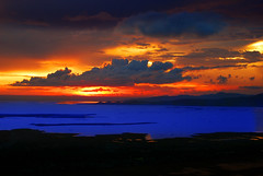 Sunsets Should Be Beautiful (maraculio) Tags: blue orange art beautiful de bay photo shoot sunsets be session 1855mm laguna pk friday should tgif 15th bonding caliraya d40x kodakero maraculio