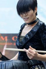 Drum Cat (KCLam) Tags: scotland drum korean royalmile d300 endinburgh edinburghfestivalfringe lamkc drumcats