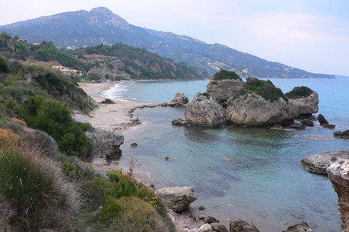 Porto Zoro beach, Vassilkos