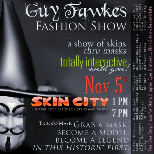Guy Fawkes Fashion Show