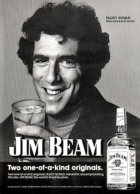 Elliot Gould for Jim Beam (1974)