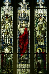 Detail east window All Saints - Stretton-on-Dunsmore