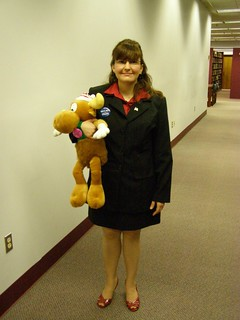 Palin costume with moose
