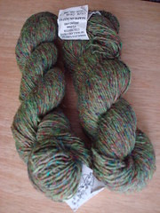 Himalaya yarn - wool and recycled silk
