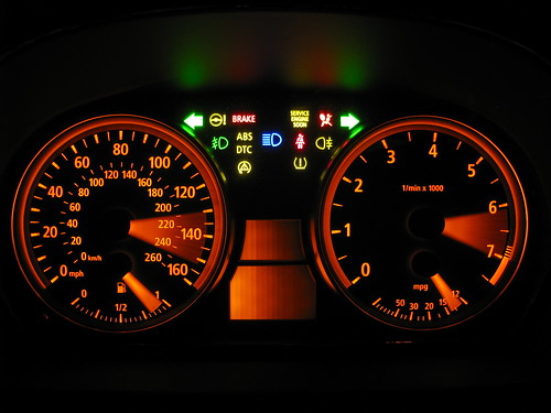 Canadian Instrument Cluster