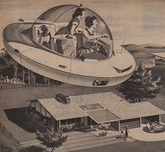 "Your Personal ""Flying Carpet"" (The Pie Shops Collection) Tags: vintage ads advertising electricity thefuture 1959 hovercars"