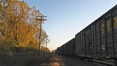 Autum at Hawthorne Junction. Chicago / Cicero Illinois. October 2008.