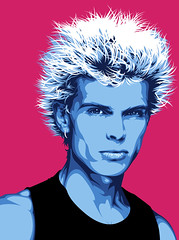 Billy Idol Art (Mel Marcelo) Tags: portrait illustration vectorart billyidol 80s tanktop newwave grafx spotcolor spikedhair adobeillustrator melmarcelo meltendo mpyregraphics melitomarcelo